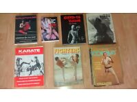 40 x karate , martial arts magazines / book / 70's /80's
