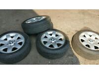 Bmw alloy wheels 16inch