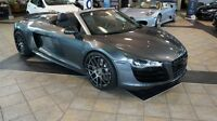 2011 Audi R8 Spyder 5.2 Convertible mint condition