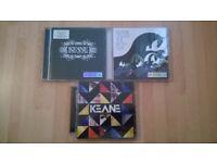 x3 Keane CDs