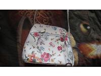 Floral design bag