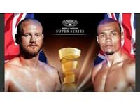 Eubank v Groves Super Series Boxing Tickets Manchester February 17th