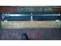 A One meter vernier for sale in very good condition in a wooden box.