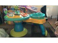 Baby walker activity centre