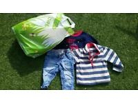 Boys pjs and clothes aged 1-3