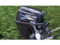 Parsun Outboard 15HP 4 Stroke Long Shaft + Remotes Electric & Pull Start