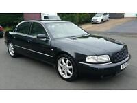Audi a8 sport 2.8 2000/v reg. 10/11 months mot.