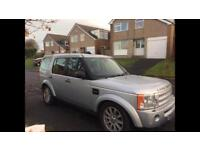 Land Rover discovery 3. 2008, 58 plate.
