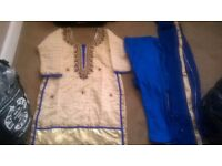 Brand new Indian diamante suit
