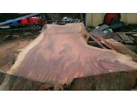Hardwood slabs kitchen dining office bar furniture