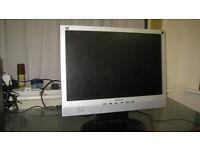 ViewSonic 19 inch widescreen LCD monitor