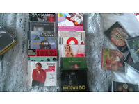 Various music cd's