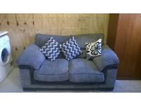 Sofa & Matching Swivel Chair - Must See