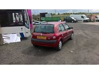 5 door clio 62999 miles full mot no issues with the car new tyres,brakes,ect 60,6 mpg great car