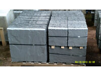 Charcoal Yorkstone Paving Slabs 5.76m2