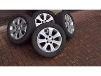 Vectra C alloy wheels