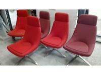 5 tub chairs