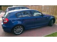 2006 56 bmw 120i m-sport 6-speed fully loaded leathers long mot lovely car drives perfect £2595