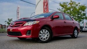 2013 Toyota Corolla CE, A/C, BLUETOOTH, 1 OWNER