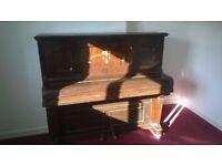 Floemur Overstrung Underdamped Upright Iron Grand Piano