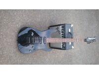 Fender Showmaster (super strat) (HSS) with Fender 15w amp.