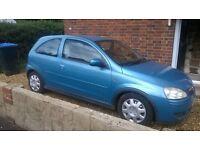 Vauxhall Corsa 1.0 litre 2003