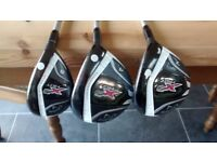 Ladies right handed Callaway X2Hot woods