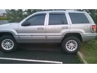 "4X4 JEEP GRAND CHEROKEE "" BIG OFF ROAD TYRES """