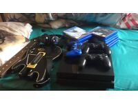 Ps4 3 pads 12 disc games plus 5 months of psn with games in account