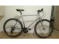 B´Twin Hoprider 300 Bike XL and Giro indicator Helmet For sale