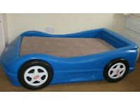 Little Tikes Toddler Blue Car Bed