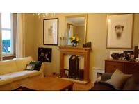 3 BEDROOM FURNISHED FLAT WITH PRIVATE PARKING