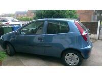 Fiat Punto (Active 8V) 54 plate, 3 door Hatchback, petrol