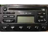 Ford CD player with code