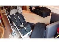 Maclaren XLR Champagne 2011 Pushchair Stroller Travelsystem
