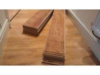Laminate flooring (factory seconds, see description)