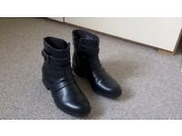 Hotter shoes/Clarks boots size 4