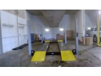 Rotary ar 40/43 4 post 4 tonne lift / ramp
