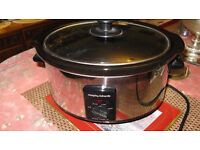 Slow cooker. Morphy Richards. 3.5 Ltr.