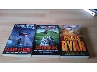 3 CHRIS RYAN BOOKS FOR SALE