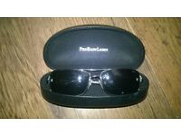 mens polo ralph lauren sunglasses with carry case excellent cond £30