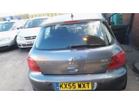 Peugeot 307 1.6L, 6 month MOT, low mileage for only £1199