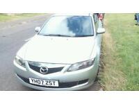 Mazda 6. Year 2007. 2.0 diesel. 78000 miles
