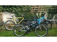 Best deal ever for three mountain bikes!