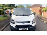 Ford Transit Custom 15 plate. Long mot and service History. one owner NO VAT
