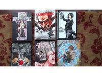 Assorted Anime books.