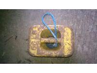 56lb iron boat weight/mudweight/anchor