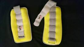 Wrist/ankle weights sand bags