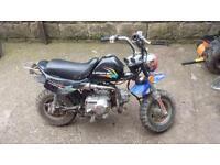 70cc Lifan monkey bike