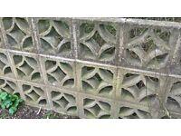 Decorative block wall bricks - FREE
